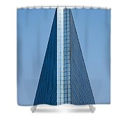 Symmetrical Skyscraper Shower Curtain