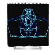 Symmetry Art 3 Shower Curtain