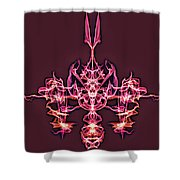 Symmetry Art 4 Shower Curtain