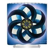 Synergy Mandala 1 Shower Curtain