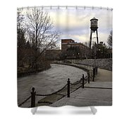 Syracuse Creekwalk Shower Curtain