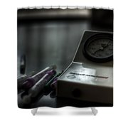 Syringe And Gauge   Shower Curtain
