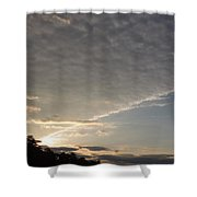 System Ceiling Shower Curtain
