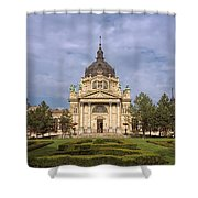 Szechenyi Baths Budapest Hungary Shower Curtain
