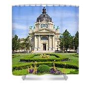 Szechenyi Baths In Budapest Shower Curtain