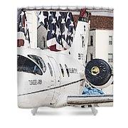 T-1a Jayhawk Shower Curtain
