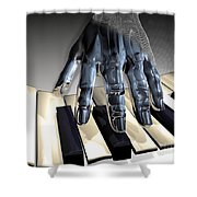 T-age Shower Curtain