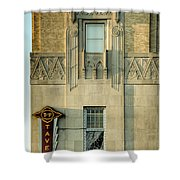 T And P Tavern Shower Curtain