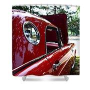 Vintage Car - Opera Window T-bird - Luther Fine Art Shower Curtain