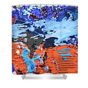 T S 13 Shower Curtain