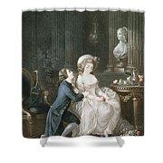 T.2342 Lamant Ecoute, 1775 Shower Curtain
