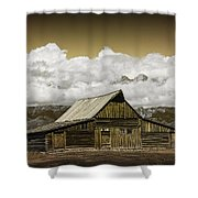 T.a. Moulton Barn In The Grand Tetons Shower Curtain