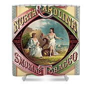 Tabacco Seal Shower Curtain by Gary Grayson