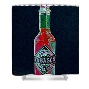 Tabasco Sauce 20130402 Shower Curtain