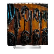 Tack Room Shower Curtain