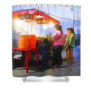Taco Stand San Felipe Shower Curtain