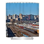 Tacoma City Wide View Shower Curtain