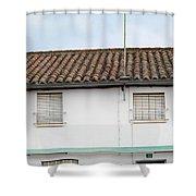 Tafarron 6 Shower Curtain