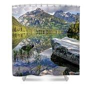 Taggart Lake  Grand Teton National Park Shower Curtain