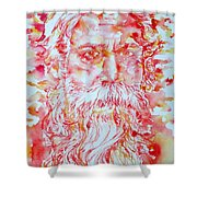 Tagore Shower Curtain