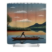 Tahitian Morning Shower Curtain
