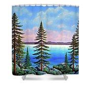 Tahoe Pines Shower Curtain