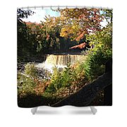 Tahquamenon Falls With My Iphone Shower Curtain