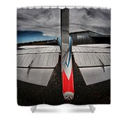 Tail Clouds Shower Curtain
