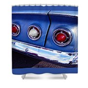 Tail Lights And Fenders Shower Curtain