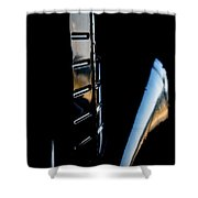 Tail Reflection Shower Curtain