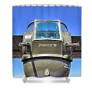 Tail Turret Shower Curtain