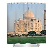 Taj Mahal At Sunrise - Agra - Uttar Pradesh - India Shower Curtain
