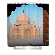 Taj Mahal Dawn Shower Curtain