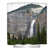 Takakkaw Falls Shower Curtain