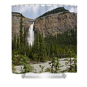 Takakkaw Falls Shower Curtain