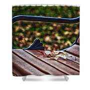Take A Load Off Shower Curtain