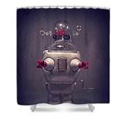 Take Me To Your Leader Shower Curtain