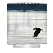 Take Out Duck Shower Curtain