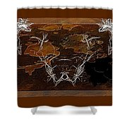 Take The Bull By Its Horns Shower Curtain