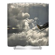 Take The Shot Shower Curtain