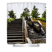 Take The Stairs Or... Shower Curtain