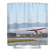 Takeoff 3 Shower Curtain