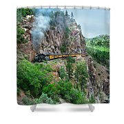 Taking The Highline Home Shower Curtain