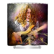 Tal Wilkenfeld Shower Curtain