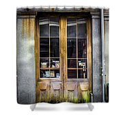 Tall Doors Shower Curtain