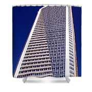 Tall Highrise Building Shower Curtain