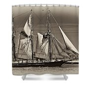 Tall Ship II Shower Curtain