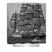 Tall Ship Stad Amsterdam Shower Curtain