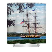 The Tall Ship Niagara Shower Curtain