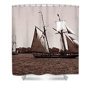Tall Ships 3 Shower Curtain